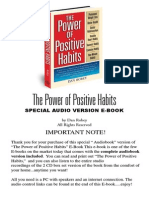 (VVVImp)the Power of Positive Habits