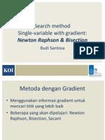NewtonRhapson Bisection