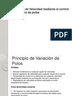 Motores Electricos - Variación de Velocidad - Control Del Número de Polos