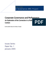 158 IssuesPaperNo 1 Governance PerformanceIssues
