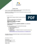 Instrucciones Pago Banorte