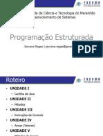 JAVA - PROGRAMÇÃO ESTRUTURADA