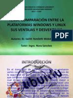 Protocolo de Las Diferencias Entre Windows y Linux