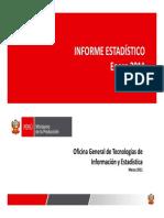 Informe Estadistico Enero 2011