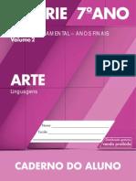 CadernoDoAluno 2014 2017 Vol2 Baixa LC Arte EF 6S 7A