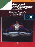 TSR 9234 - AD&D Dungeon Master's Design Kit