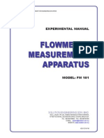 Flowmeter Measurement Apparatus