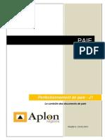 Support de Cours Le Contrôle Des Documents de Paie
