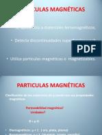Particulas Magnéticas x Prof II