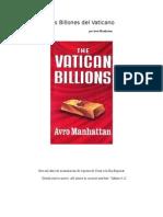 Los Billones del Vaticano - Avro Manhattan.doc