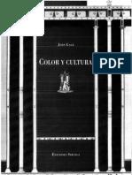 5254-Gage, John - Color y Cultura