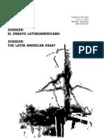 El Ensayo Latinoamericano Cilha