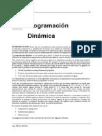 Apuntes de Clase - Programacion Dinamica