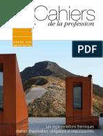 les cahiers de la profession