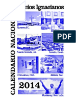 CALENDARIO EJERCICIOS 2014