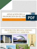 Aplicación de La Proporción en El Diseño