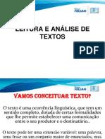 LEITURA+E+ANÁLISE+DE+TEXTOS