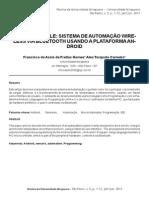 Droidcontrole Sistema de Automacao Wireless via Bluetooth Usando a Plataforma Android