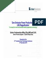 Zero Emission Regasification Technology (Aker Solutions)