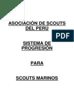 Sistema de Progresion Para Scouts Marinos