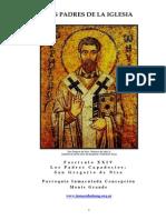 24 - Fascculo XXIV - Padres Capadocios - San Gregorio de Nisa