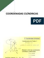 Coordenadas cilíndricas