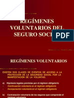 regimenes voluntarios