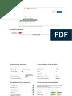 Configuracion Joomla