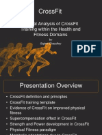 Critical Analysis of Crossfit Within the Health and Fitness Industry