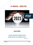 Imam Mahdi in 2023 AD