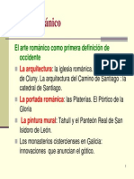 Arte Romanico Contexto Arquitectura