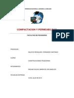 Compactacion y Permeabilidad Final