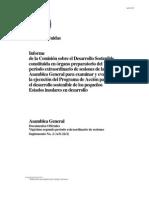 OMT Informe de La Comisión Sobre El Dllo Sostenible
