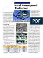 Properties of Austempered Ductile Iron
