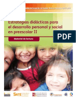 EDDPS-II Preescolar Antologia