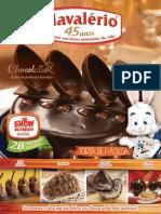 Chocolate Receitas Mavalério
