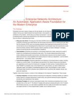 Cisco Enterprise Networks Architecture Whitepaper