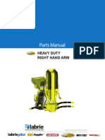 Labrie_heavy Duty Right-hand Arm_parts Manual_90418
