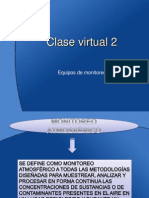 Clase Virtual 2 Equipos de Monitoreo