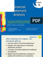PP for Chapter 6 - Financial Statement Analysis - Final