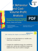 PP for Chapter 8 - Cost Volume Profit - Final