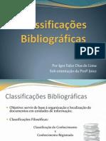 Classificações Bibliográficas