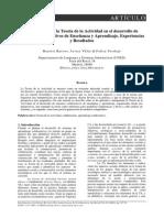 Aplicaciones de La Teoría de La Actividad en El Desarrollo