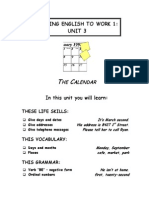Putting English Unit3