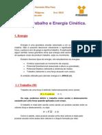 Trabalho e Energia Cinética