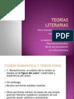 TEORÍAS LITERARIAS