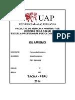 Facultal de Medicina Humana y de Ciencias de La Salud Escuela Profesional Psicologia Humana