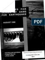 Guidelines for Design of Dams for Earthquake