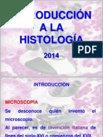HISTOLOGIA INTRODUCCION 2014.pptx