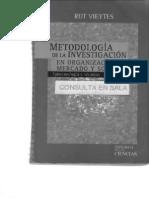 Metodologia de La Investigacion en Organizaciones Mercado y Sociedad